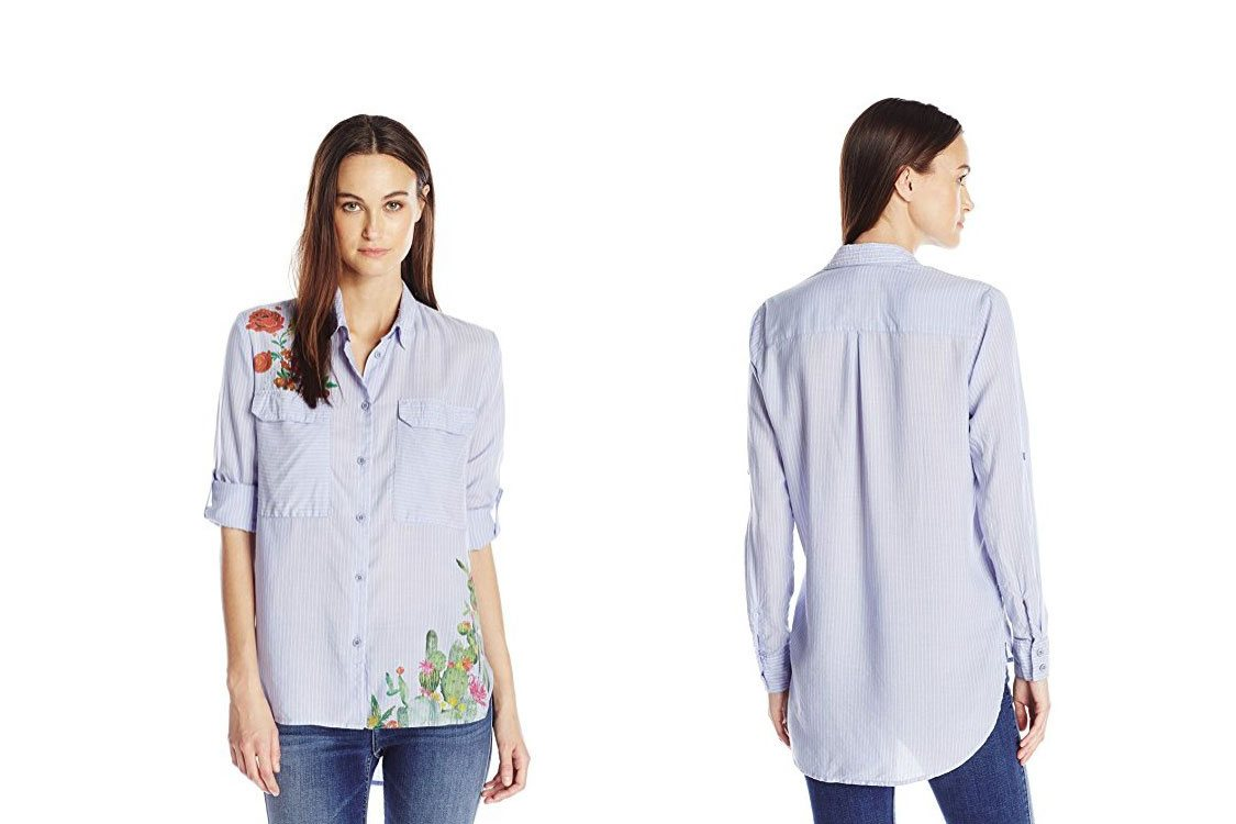 Desigual Hemd Miriam, blau.