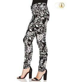 Desigual Hose, Damen, schwarz, weiß.