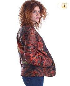 Desigual Herbst, Daunenjacke Piumino Donna Marrone, rot, braun.