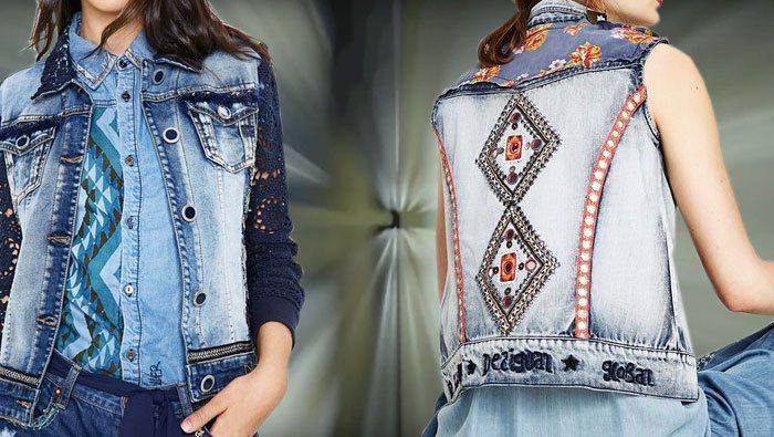 DESIGUAL JACKE: Ganz schön anders: »Jacken« auffallend kreativ.