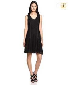 Desigual Kleid Croacia, schwarz.
