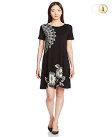Desigual Casual Kleid Vest Maribel, schwarz.