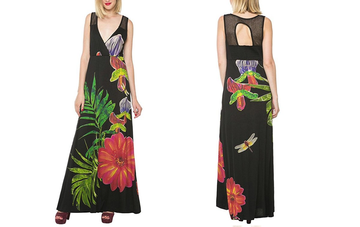 Desigual Sommer, Kleid Barbara, schwarz.