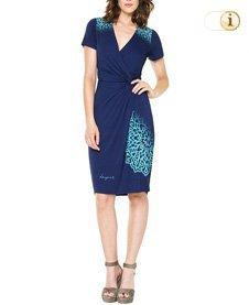 Desigual Damenkleid Conny, blau.