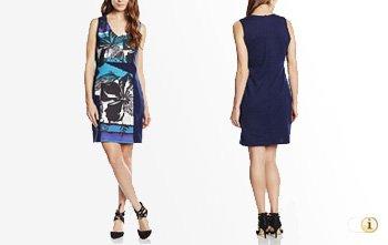 Desigual Sommer, Kleid Juana, blau.