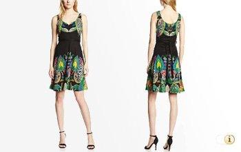 Desigual Sommer, Kleid Sandra, schwarz.