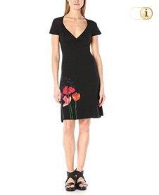 Desigual Damenkleid VEST Clau, schwarz.