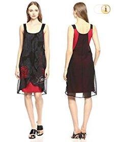 Desigual Damenkleid Vest blackville, schwarz.