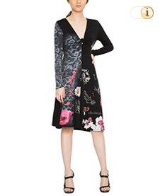 Desigual, Kleid Vest carina, schwarz.