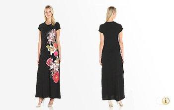 Desigual Sommer, Kleid Julia, schwarz.