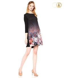 Desigual Kleid Freya, schwarz.