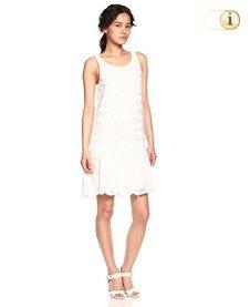 Desigual Kleid, Vest Barcelona, weiß.