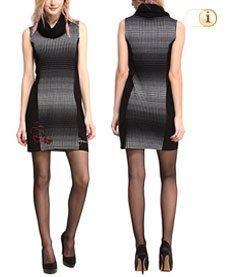Desigual Damenkleid Vest Neusifu, schwarz.