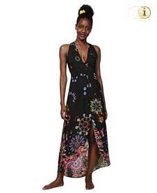 Desigual Kleid Magda, schwarz.