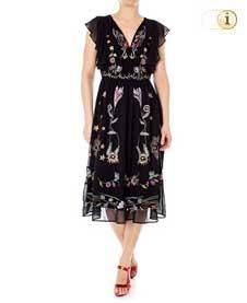 Desigual Kleid Sandy, schwarz.