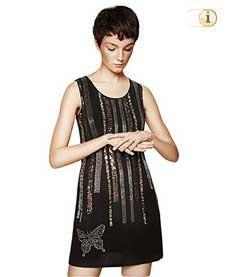 Desigual Kleid, schwarz.