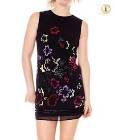 Desigual Kleid Emma, schwarz.