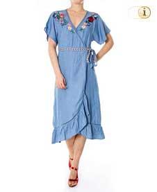 Desigual, Kleid Vest Orangyna, blau.