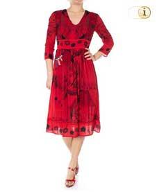 Desigual Kleid Vest Clam,rot.
