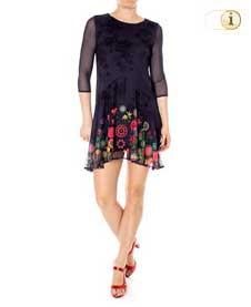 Desigual Kleid OKONOR, schwarz.