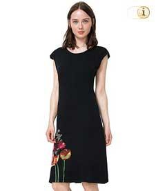 Desigual Kleid Sara, schwarz.