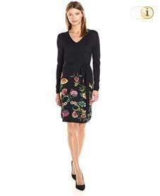 Desigual Damenkleid VESTLULU, schwarz.