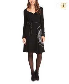 Desigual Kleid VEST MARTITA,schwarz.