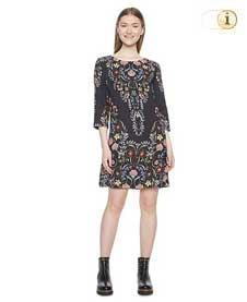 Desigual Kleid Vest Clementine, schwarz.