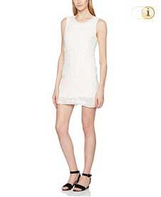 Desigual, Damen Kleid Mauricio, weiß.