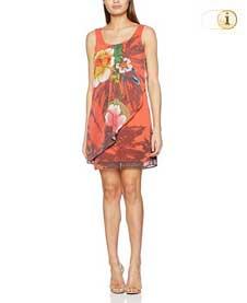 Desigual Kleid Vest Shayck, rot.