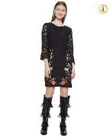 Desigual Kleid Vest Vermond, schwarz.