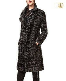 Desigual Mantel ABRIG Coat, schwarz.