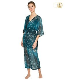 Desigual Kimono, blau.