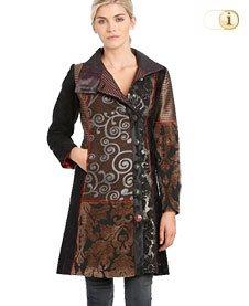 Desigual Mantel für Damen. Mantel Abrig Sabrina, braun.