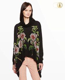 Schwarzer Desigual Pullover ANNA, schwarz.