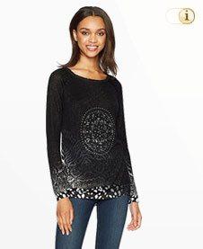Desigual Pullover, schwarz.