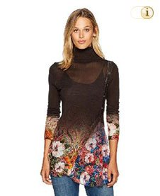 Desigual Herbst, Damen Pullover Freya, braun.