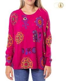 Desigual Pullover Maglia, pink.