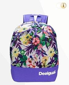 Desigual Tasche, Rucksack, Bols Bagpack A Damen Shopper, purple.