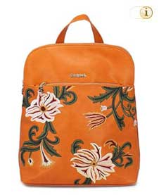 Desigual Rucksack Luxury Fashion, orange.