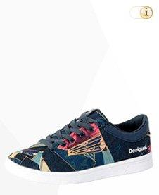 Desigual Sneaker, Sportschuh, Sommer, Denim, schwarz.