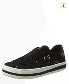 Desigual Sneaker, Schuh, Sommer, schwarz.