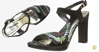 Desigual Pumps, Marylin, Sommer, schwarz.