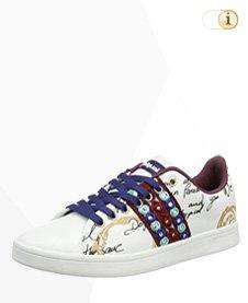 Desigual Sneaker, Sportschuh, Sommer, weiß.