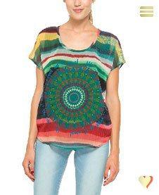 Desigual Shirt Samoel, grün.
