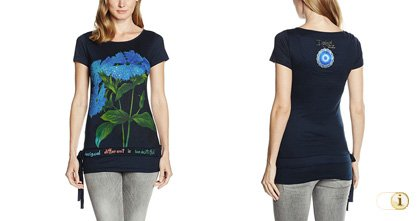 Desigual Sommer, Shirt Malvina, schwarz.