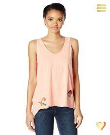 Desigual Sommer, Shirt Springfield, apricot.