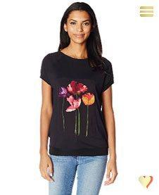Desigual Shirt Mares, schwarz.