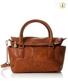 Braune Desigual Tasche, Bols dark Amber Loverty, braun.