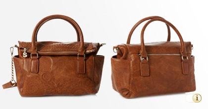 Braune Desigual Tasche, Bols dark Amber Loverty Henkeltasche, braun.